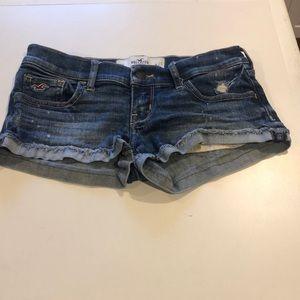 Hollister Denim Shorts with Cuff